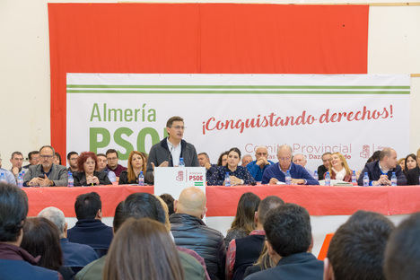 El Comité Provincial del PSOE exige al Gobierno central una docena de infraestructuras prioritarias para Almería
