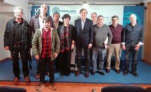 El Partido Popular se reúne con los Sindicatos de Prisiones de Almería para conocer sus demandas