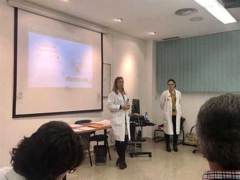 El Área Sanitaria Norte de Almería acoge la celebración de un curso para la formación del voluntariado hospitalario