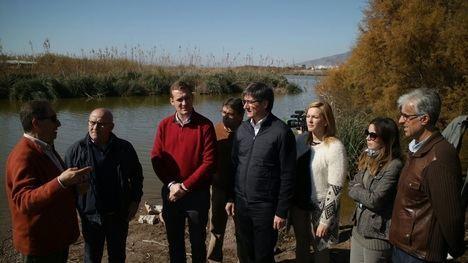 La Junta invierte 173.000 euros en la restauración ambiental de las ramblas del delta de las Albuferas de Adra