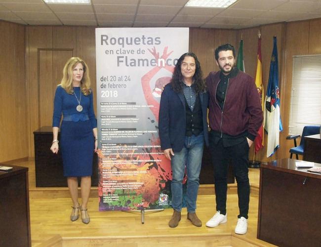 Tomatito, Miguel Ángel Cortés, Rafael Amargo, Agustín Barajas y Julio Ruiz participarán en 'Roquetas en clave de flamenco'
