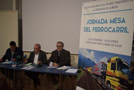 La Alta Velocidad en el futuro transporte del ferrocarril a debate en Vícar