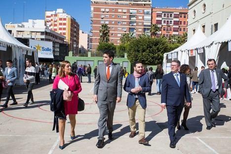 La II Feria 'Aula Empresa La Salle', punto de encuentro para el futuro de los jóvenes almerienses