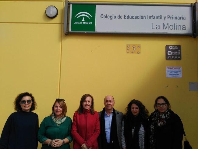 Adjudicada la redacción de la ampliación del CEIP La Molina en Roquetas de Mar