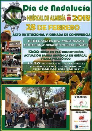 Día de Andalucía solidario en Huércal de Almería