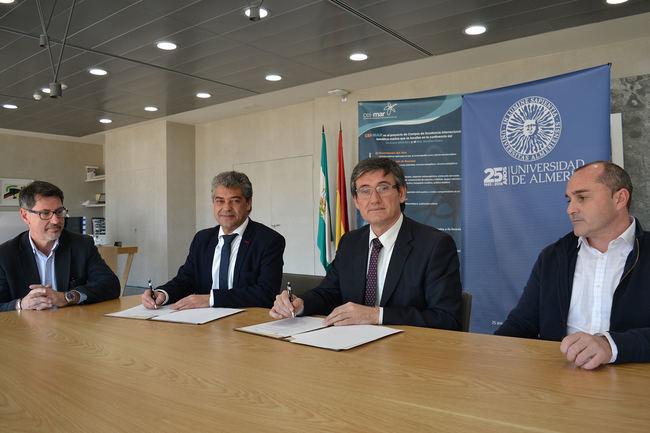 UAL y la Asociación Litoral del Poniente Almeriense velarán por el sector pesquero