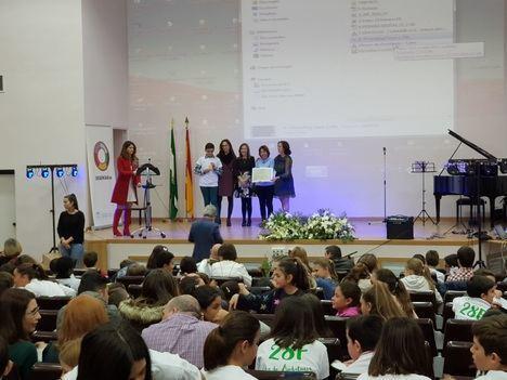 Escolares de Almería protagonizan su propio 28F
