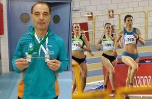 El club de atletismo Ciudad de Almería logra cuatro medallas en el Campeonato de Andalucía Veteranos