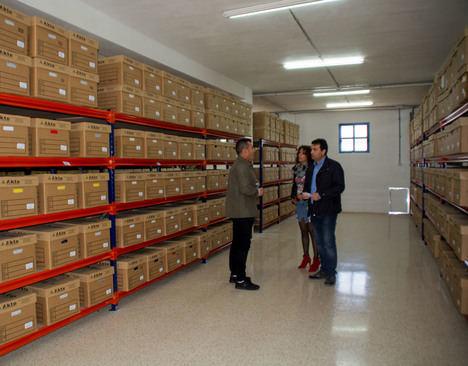 Carboneras culmina la creación del Archivo Municipal
