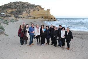 Pulpí acoge a empresas turísticas de Almería y Murcia durante la celebración de su Fam Trip