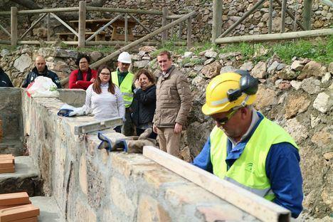 Obras de mejora en el área recreativa 'La Limera' de Turre