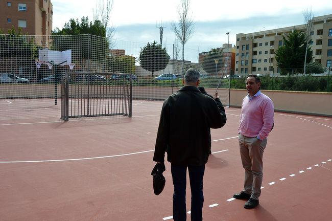 El Patronato Municipal de Deportes invierte más de 55.000 euros en la reparación de pistas de uso libre