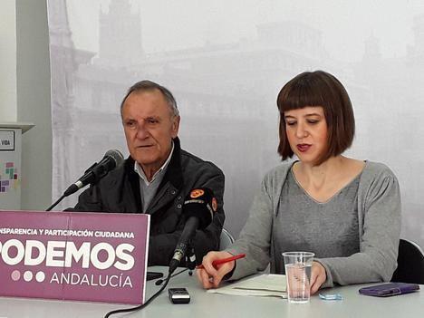 Podemos pide en el Parlamento andaluz rescatar