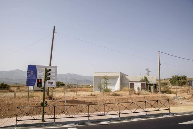 Diputación invertirá 275.000 euros en urbanizar el entorno del Espacio Escénico de Los Gallardos