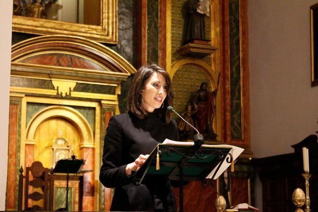 Carmen Belén López pregona la Semana Santa de Adra