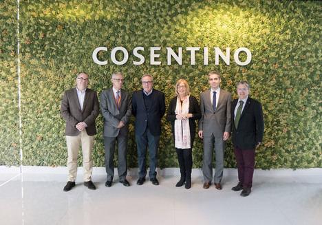 Grupo Cosentino y CTA analizan oportunidades de colaboración en innovación