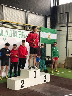 El club Halterofilia de Almería consigue tres medallas en el Campeonato de Andalucía Sub 17