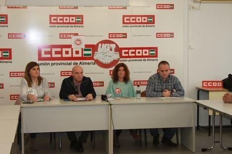 CCOO, UGT, CSIF y Sindicato Libre anuncian movilizaciones