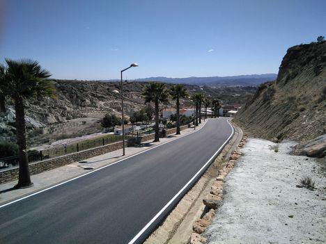 Diputación culmina la mejora del acceso a Partaloa por la Avenida de Andalucía
