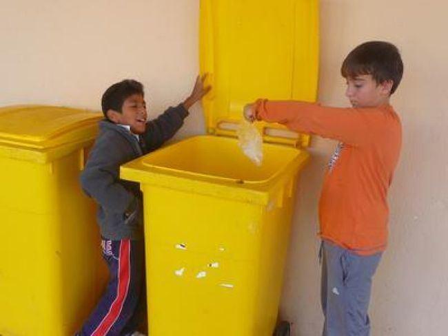 El CEIP José Saramago marcha tercero en la Liga de Reciclaje del Poniente Almeriense