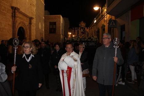 Huércal de Almería vivió intensamente las procesiones de Jueves y Viernes Santo