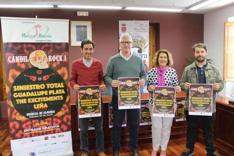 Siniestro Total encabeza la XXXI edición del Cándil Rock de Huércal de Almería