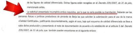 El Alcalde de Berja exige al PSOE que deje de engañar con el tema de la calidad certificada de los pimientos