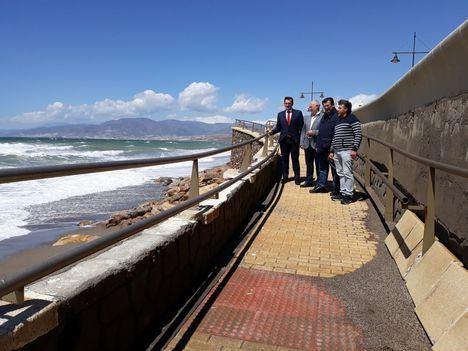 El PSOE lleva al Congreso de los Diputados la grave situación de las playas de El Ejido