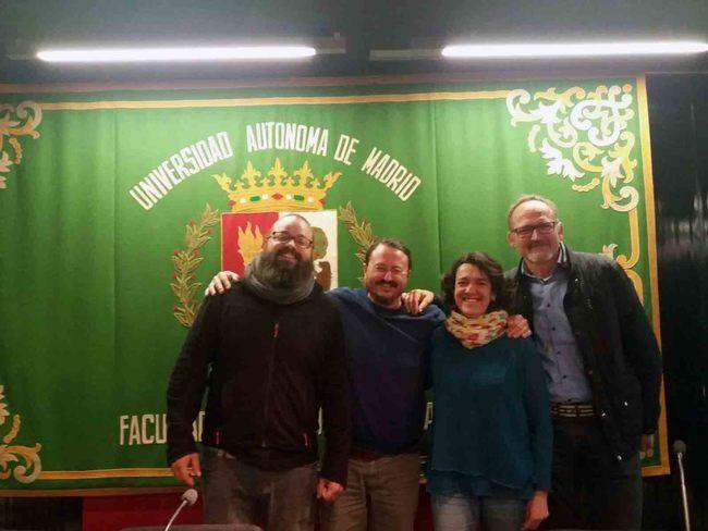 El Ayuntamiento de Almócita exhibe en Madrid sus proyectos para evitar la despoblación