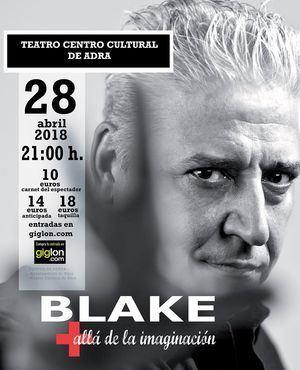 El mentalista Anthony Blake actuará en Adra el próximo 28 de abril