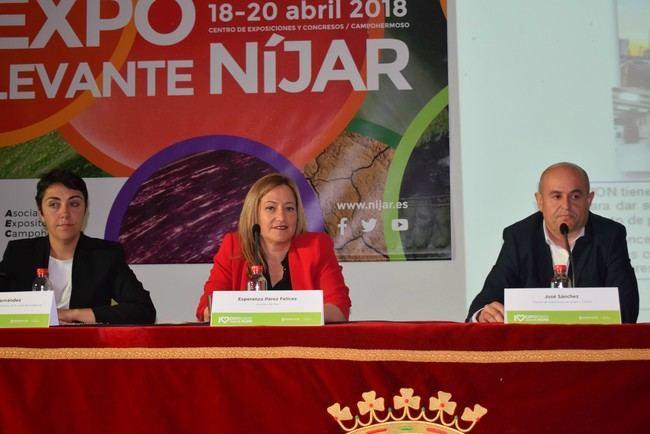 Doble vía hasta el Puerto Seco de Níjar principal reivindicación del campo en Expolevante 2018