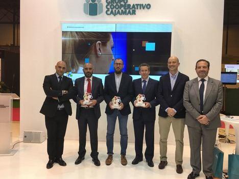 Reconocimientos de Cajamar a Carrefour Express, Emprendedores y Rodilla
