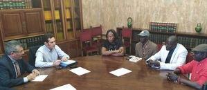 Reunión con la Asociación de Inmigrantes de Senegal 'Aisad Mbolo'