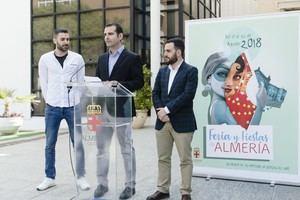 """""""Moderno, fresco y diferente"""" así es el cartel de la Feria de Almería"""