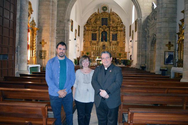 Amigos de la Alcazaba y La Soledad echan las campanas al vuelo en la Iglesia de Santiago