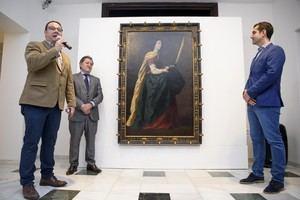 Una casi inédita 'Santa Casilda', de Zurbarán, ya está en el Museo de Arte 'Doña Pakyta'
