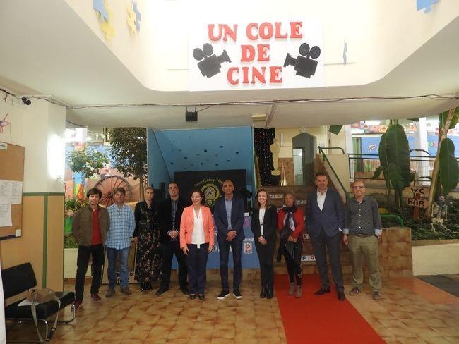 CEIP Colonia Araceli clausura su semana dedicada ae Almería y el cine
