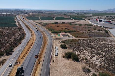 Desviado el tráfico de Vera a Garrucha debido a las obras de desdoblamiento de la A-352
