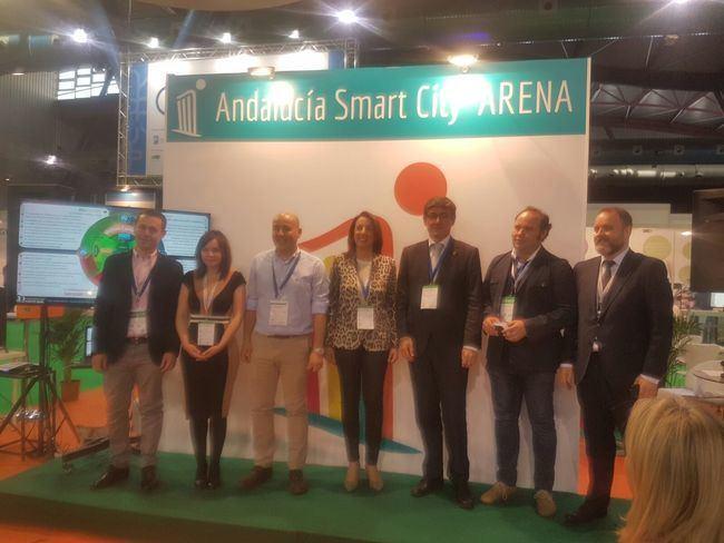Manuel Cortés presenta en Andalucía Smart City Arena la estrategia Adra Ciudad 2020