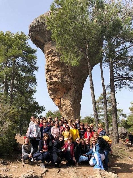 Las mujeres de Vera celebran su día en Cuenca