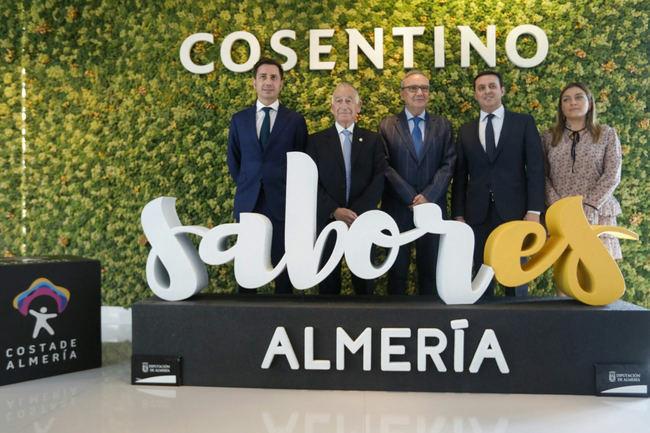 Diputación y Cosentino se unen para promocionar 'Costa de Almería' y 'Sabores Almería' en el mundo
