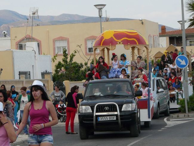 Feria del Mediodía y Disco Show en la apertura las fiestas de La Macarena en Barrio Archilla-Cañada Sebastiana