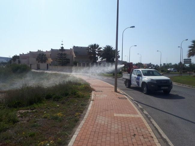 Intensifican el tratamiento contra los mosquitos en El Ejido