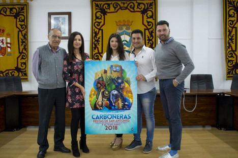 Carboneras presenta el cartel de las Fiestas de San Antonio 2018