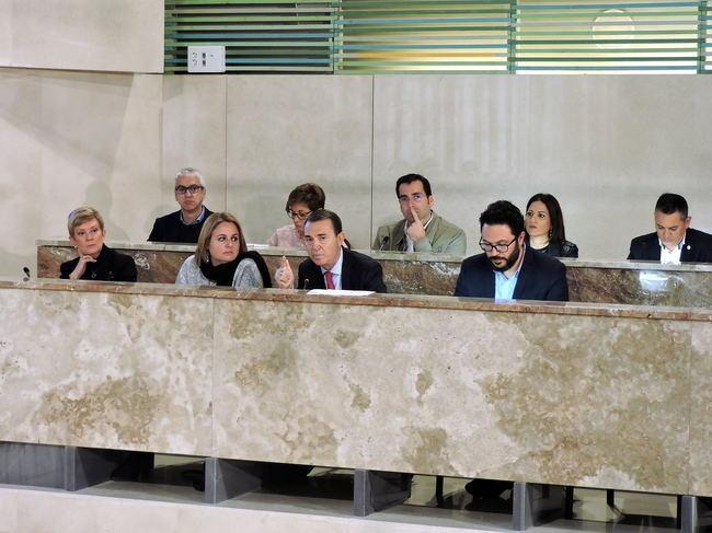 Todos respaldan la petición del PSOE de regenerar la playa de La Cañada este año