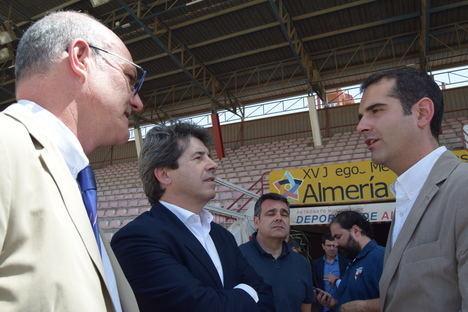 Almería atrae miradas hacia el emergente 'universo rugby'