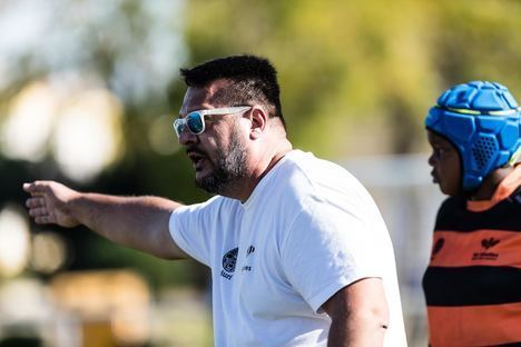 Unión Rugby Almería encuentra la horma de su zapato en la figura de Nacho Pastor