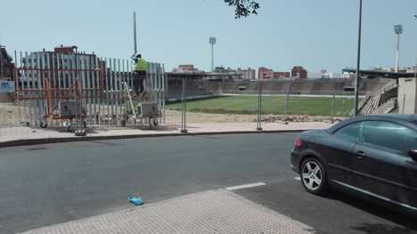 El primer partido oficial del Juan Rojas como campo de rugby será el URA-Jaén
