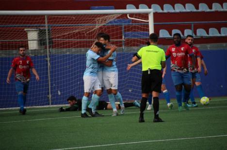 El CD El Ejido vence 0-6 al CF Adra
