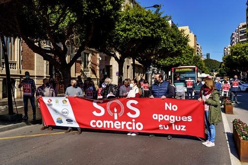 El pequeño comercio de Almería lanza un SOS a la Junta